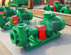 High Speed Oilfield Centrifugal Mud Pump 75000W Powered