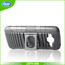 Foshan Phone Case Manufacture Rugged Ring Robot Holster Case for Samsung J2 2016