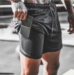 Mens Hand Made Black Nylon Lycra Gymnastics Shorts Athletics Gym Jogging Sports