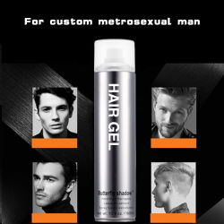 Men Use Strongest Super Hard Short Hair Styling Gel OEM Wholesale