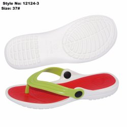 ea2f997fd8d7 Jelly Shoes PVC Upper Strap Girls EVA Flip Flop Slippers