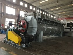 Ce ISO ASME Certificated Rake/ Disc Dryer for Paste, Slurry, Carbon Black, Calcium Carbanate, Polyethlene, Polypropylene From Top Chinese Supplier