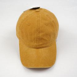 f3816789b05 Customize Yellow Blank Baseball Cap Washed Cotton Twill