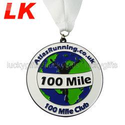 Custom Promotion Gift Zinc Alloy Marathon Sport Running Metal Medal