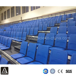 Arena Telescopic Automatic Sports Grandstand, Arena Telscopic Seating System, Spectator Seating for Multisports Use