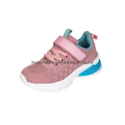 2 Colors Best Selling Fly Knit Athletic Shoes Sport Shoes Casual Shoes for Children