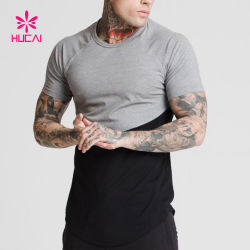 China Manufacturer Raglan Sleeve Men Plain Sport Tee Shirt