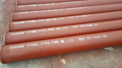 Slurry Pipe with Shoulder Ends
