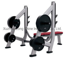 2019 Hot Sale Sports Equipment Ls-L08 Olympic Bench Weight Storage