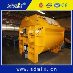 Ktsb1500 Industrial Use Construction Project Twin Shaft Concrete Mixer