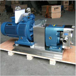 Sanitary Stainless Steel Ss304 /316 Cam Rotor Pump