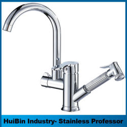 China Wholesale Modern Bathroom Basin Faucet with Single Handle