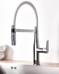 Wide Group- Reddot Award Winner, Sanitary Ware Distributor Brass Flexible Pull Down Kitchen Faucet with Magnet Inside