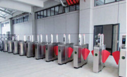 Anti-Breakthrough Flap Barrier Gate with Wing Barricade Security System