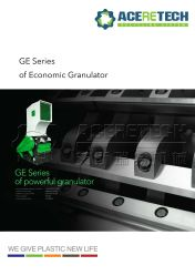 Ge Series of Economic Granulator/Crusher for Plastic Pipes/Profiles/Sheets/Films/Nozzles