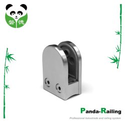 Stainless Steel Glass Balustrade/ Staircase Fitting / Handrail Fitting Glass Clamp