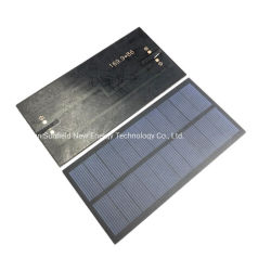 Small Size Mini PET 2W 5V Poly Solar Panel for DIY Solar Light Toy Kit Charger