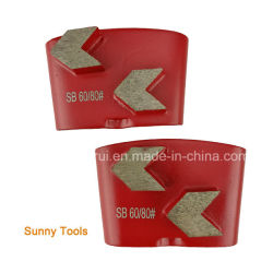 Arrow Segment Concrete Diamond HTC Grinding Polishing Pad