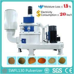 Untrafine Pulverizer Swfl130 for Aquafeed Processing Equipment/ Fish Feed Milling Machine