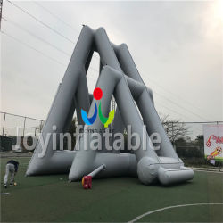 14m Length Inflatable Slide with Long Swimming Pool