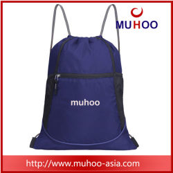 Water Repellent Gym Drawstring Sports Backpack Bag for Promotional