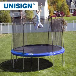 Leisure Sports & Fitness Outdoor Trampolines 8FT 10FT 12FT 14FT 15FT 16FT Trampoline with Safety Enclosure