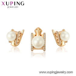 African Style Fashion Jewelry New Tend Luxury Fill With Bead And Cubic Zirconia Gold