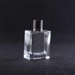 Super Clear 100 Ml Glass Perfume Bottle