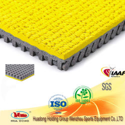 Anti-Slip Synthetic Recycled Sports Track Material in Rubber Rolls