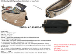 RFID Bum Pack Fanny Bag for Travel Fitness Running Sports