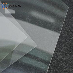0.15mm-0.5mm Clear Transparent Double Sides Anti-Fog Safety Material Pet APET PETG Plastic Sheet for Protective Full Face Mask Shield Visors