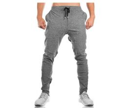 Big Discount Prived Custom Embroidery Own Logo Men Sport Pants & Gym Trousers
