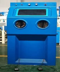 Automatic Rotary Indexing Wet Sand Blast Machine