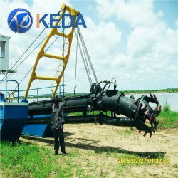 River Dredger Machine Sand Dredging Vessel Equipment in Sea
