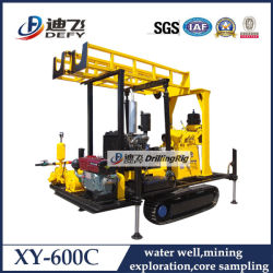 Crawler Type 600m Drill Machine for Water Used