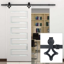 China Suppliers Carbon Steel Sliding Barn Door Hardware Zyc 05
