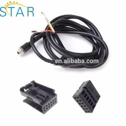 oem/odm custom iso9001-2008 car audio iso connector automotive harness wire  assembly,