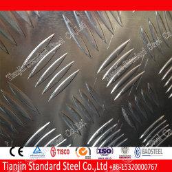 1050 1060 1100 Aluminum Five Bars Tread Sheet