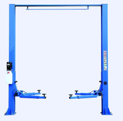 2 Two Post Hydraulic Car Lift Garage Equipment for Car Repair Wash for Sale