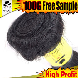 8A European Wholesale Human Hair with 613# Golden Color