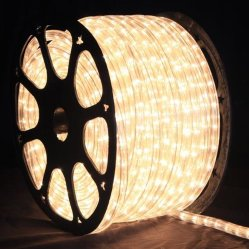 Outdoor Round 2 Wire Waterproof Decorative 11mm LED Strip Light (CE, RoHS)