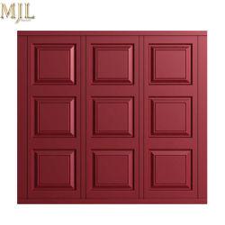 Hot Sale Wooden Aluminum Panels Automatical Garage Doors
