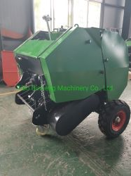 Tractor Mounted Ce Certificated Small Round Rice Paddy Baler (0870) with Best Price High Quanlity