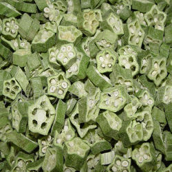 Dehydrated Nutritious Freeze Dried Okra for Cooking Recipe