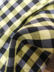 High Quality Plaid Pattern 6A Silk for Classic Fabric