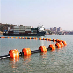 ISO4427 PE100 HDPE Dredge Pipe for Dredger Dredging Sand and Slurry
