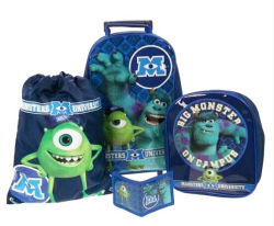 New Monster Trolley School Bags Collection for Child (DX-S1559)