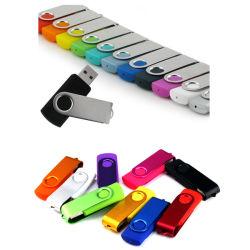 Factory Metal Plastic Swivel USB 2.0 3.0 Flash Memory Disk