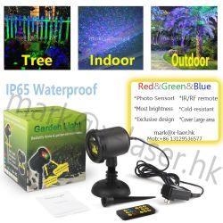 Factory Price Outdoor IP65 Star Laser Light Shower RGB Christmas Waterproof Laser Elf Light Garden Laser