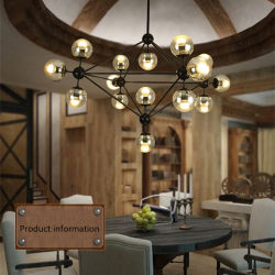 Modern Living Room Chandelier Store Ball Magic Bean Pendant Lamp